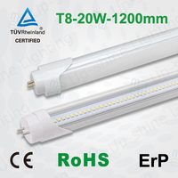 Shenzhen manufacturer commerial LED 20W EMC LVD European 2015 new design 4ft t8 led tube 18w with high quality replace tradition