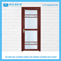 High quality products aluminum exterior glass swing door YC188
