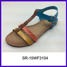 New designs flat sandals flat sandals for ladies pictures no heel sandals