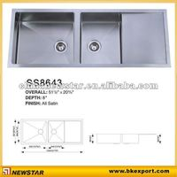 Handmade stainless steel water trough
