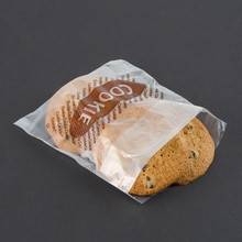 Clear poly plastic bags for cookies