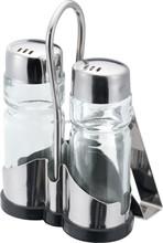 Used In Restaurant And Fast Food Shop Tableware Necessities oil vinegar cruet set salt and pepper cruet
