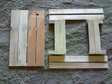 Wooden packing boxes fruits and vegetables, parts, timbers, lamelas, wooden crates,