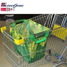 Promotional sedex factory audit supermaket foldable shopping cart bag(pk-11547)