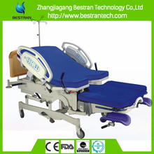 BT-LD004 Multifunction electric delivery labor and delivery beds birthing bed gynae bed supplier