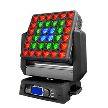 super bright 36*10w led stage show light with rgbw 4-in-1 led panel moving head