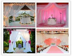 popular star curtains, wedding draperies and curtains, wedding wall drapery