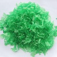 Clean Green PET bottle flakes