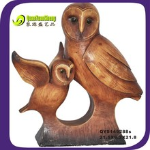 21.8CM resin owl craft home decoration
