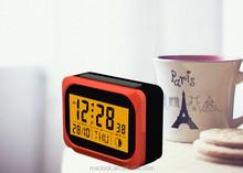 YD8228C calendar display LED backlight mini flip clock
