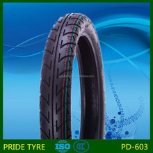 Pride brand motorcycle tyre 2.75-18 with ISO 9001 CCC certification supply OEM service