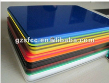 colored acrylic/PMMA/Plexiglass sheets