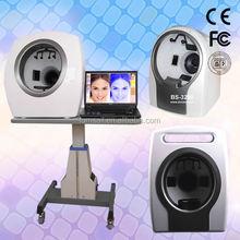 Últimas 3D analizador de piel