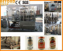 canned drinks manufacturing line