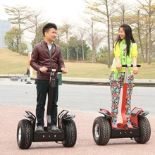 china two-wheeled off-road self balance scooter electric chariot balance scooter golf bag holder