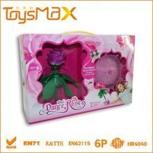 Three Colors Flight Plastic Red Rose for Girl