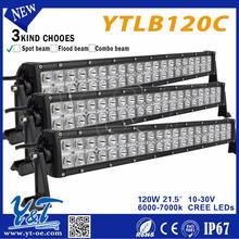Adjustable 21.5inch Offroad light 10-30v auto 120w light 120w LED