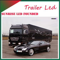 Sunrise Led mobile stage truck for sale banquet stage