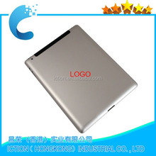 100% Original Back Cover Replacement for apple ipad 2 Wi-Fi Silver Aluminum Battery Cover Door Housing Repair Parts
