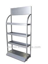 Resistente exhibidor metálico para tiendas y supermercados, AE-1011