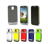 For Samsung Galaxy S4 MINI 2200mah portable power bank case with stand,paypal accept