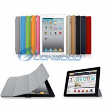 Adjustable PU Leather Folio Tablet PC Stand Cases Cover For Ipad