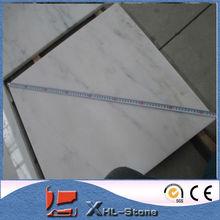 Este de mármol blanco puede ser blanco polvo de mármol