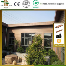 Wood Plastic Composite Exterior Wall Panel