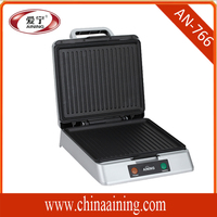 Home Appliance Square Electric Contact Grill