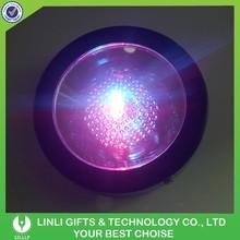 Multicolor Illumination LED Light Coaster With 3 pcs AAA