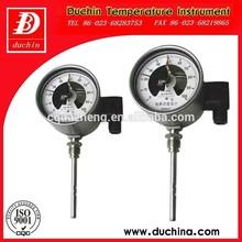 contacto eléctrico termómetro bimetálico hecho en china