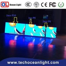 2015 creative advertising new idea indoor p8 big Led screen