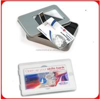 100pcs/lot 1GB Mini Flip Wallet Card Custom USB Flash Drive