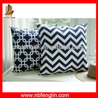Alibaba China Factory Custom Design Printed Indoor Sofa Cotton Cushion Covers