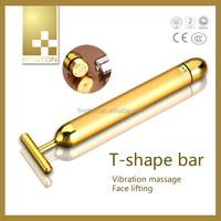 High Quality Personal Massager Energy 24K Gold Beauty Bar Home Use Device