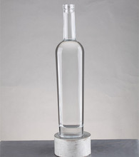 Glass material low minimum order quantity liquor bottle for crafts