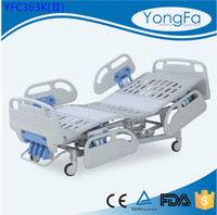 Automatic Packing Durable hot hill room hospital manual crank bed nursing care