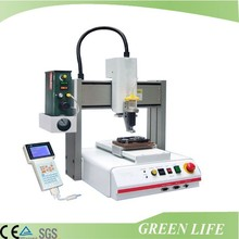 Industry products gluing equipment programmable desktop epoxy resin dispenser machine