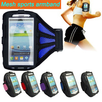 "Mesh Running SPORTS GYM Armband Case for Samsung Galaxy S6/S6 Edge/S5 i9600/S4 i9500/S3 i9300/for iphone 6 4.7"" Jogging Arm Band"