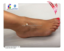 2015 Hot Selling Sexy Women Pearl Bead Gold Ankle Chain Anklet Bracelet Foot Jewelry Sandal Beach