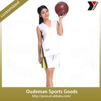 2015 Basketball Jersey /Custom Basketball Uniforms /Women Basketball Uniforms