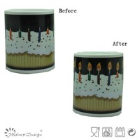 2015 hot selling change color decal mug