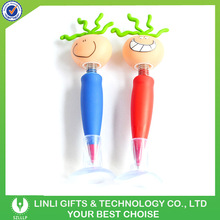 Promotion Logo Printing Smile Stand Wobbly Pen