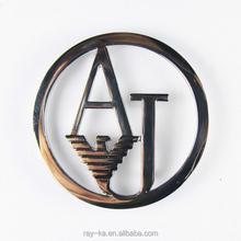 brand logo metal tag