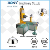 stainless steel utensils polishing machine Five Axis Polishing Machine