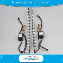 Car led DRL /strip lamp for K5 with signal lamp /Epistar leds