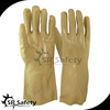 best pvc safety gloves long cuff for industrial use