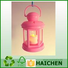 Promotional Plastic LED Hurricane Lantern