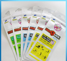 Shenzhen factory price mosquito bracelet/ band packaging bag, mosquito repellent bracelet/band bag