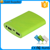 Big discount promotional price dual usb 6000mah power stick for christmas gifts